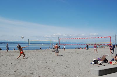 Golden Gardens  Volleyball